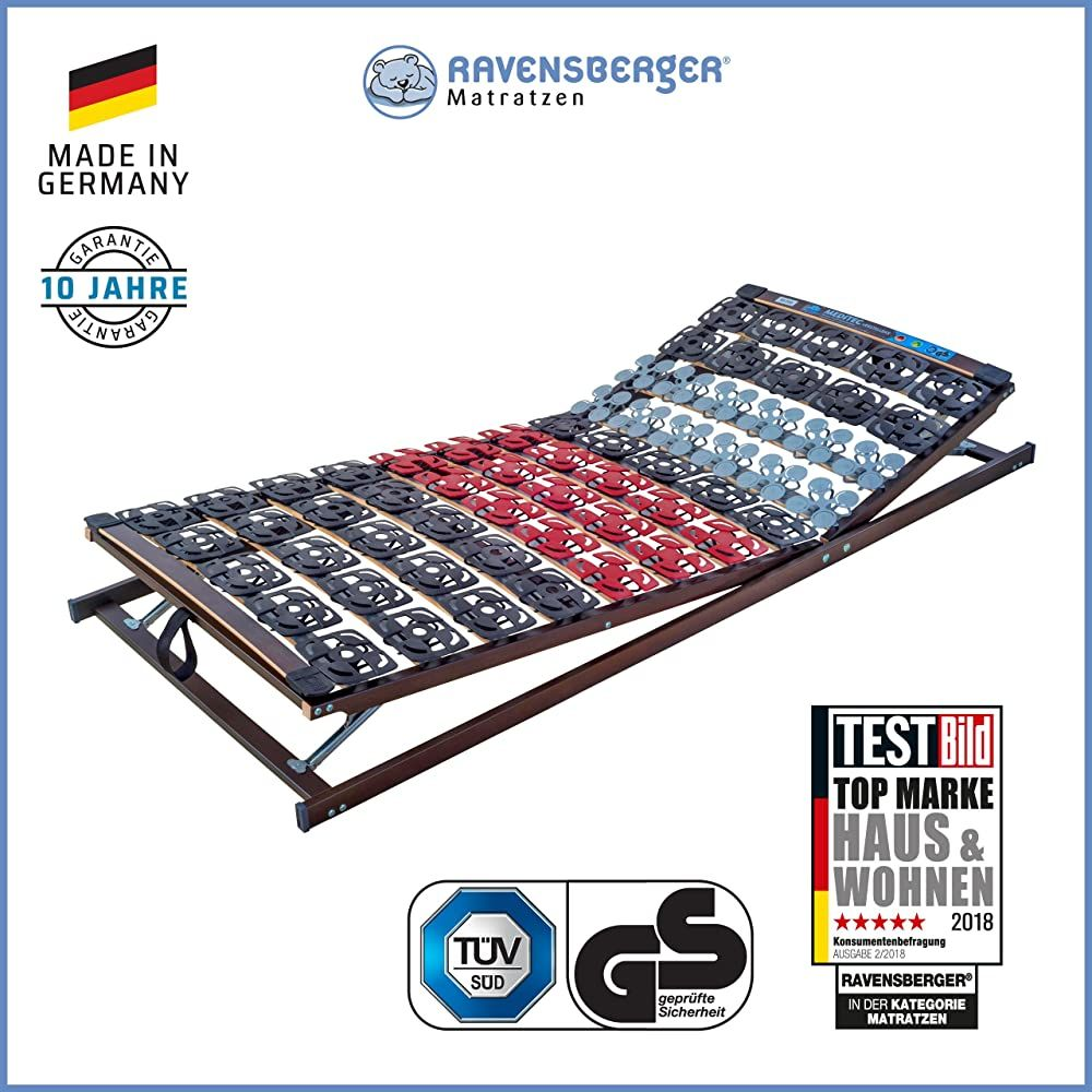Ravensberger Matratzen Meditec Lattenrost 5 Zonen Tpee Teller Systemrahmen Schichtholzrahmen Verstellbar Made In Germany 10 Jahre Gara Outdoor Blanket Beach Mat Blanket