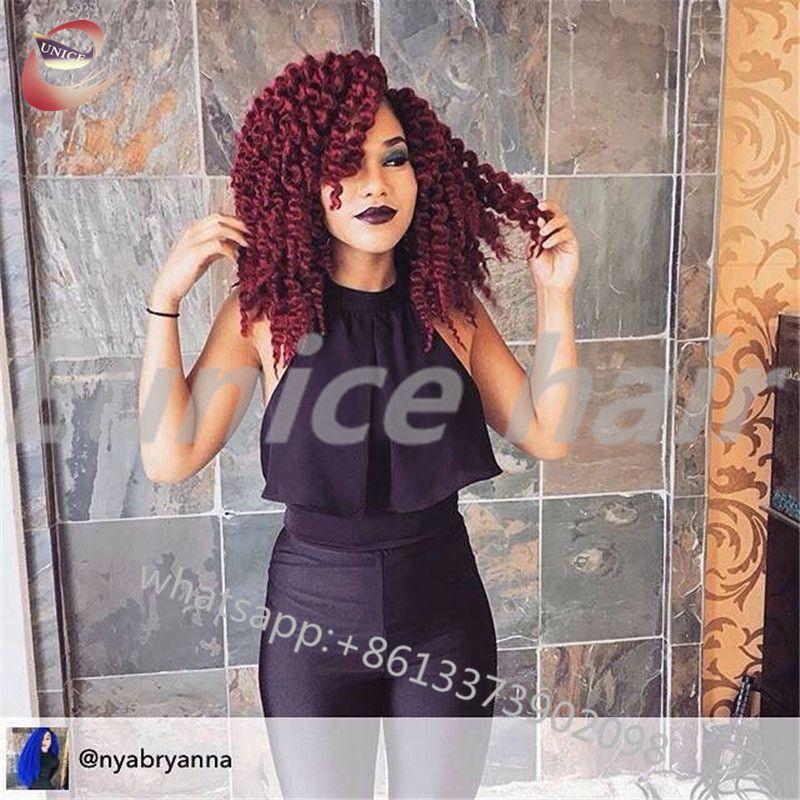 Crochet Braids Two Strand Twist Havana Mambo Synthetic Curly Hair