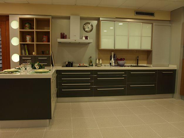 dise os de muebles de cocinas de melamina modernos 3