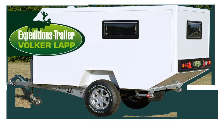 Pricep Folker Lapp Ekspediciya 340 Space Cab Offroad Anhanger Wohnwagen Camping