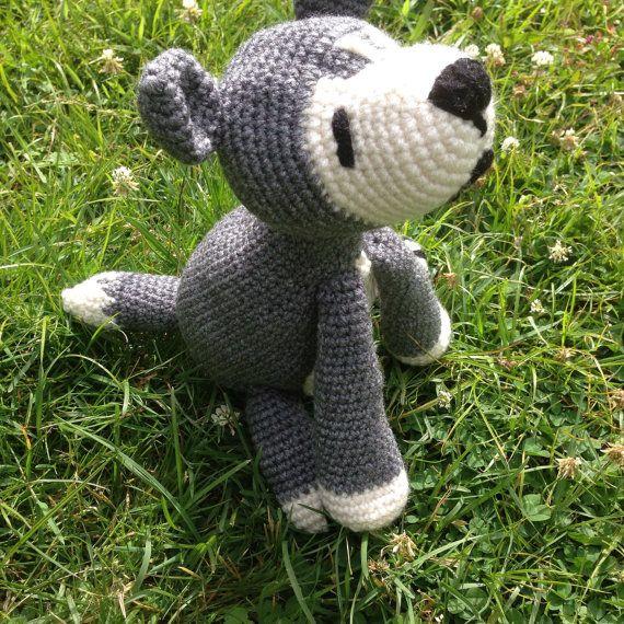 Wolf Amigurumi Stuffed Animal, crochet wolf doll, amigurumi wolf ... | 570x570