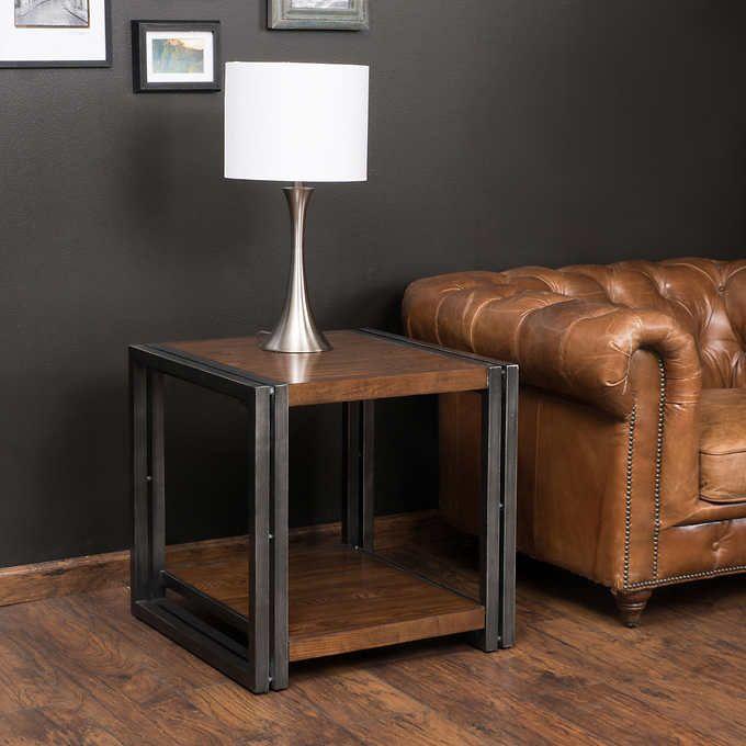 Noho End Table Loft Pinterest Costco Furniture ideas and Lofts