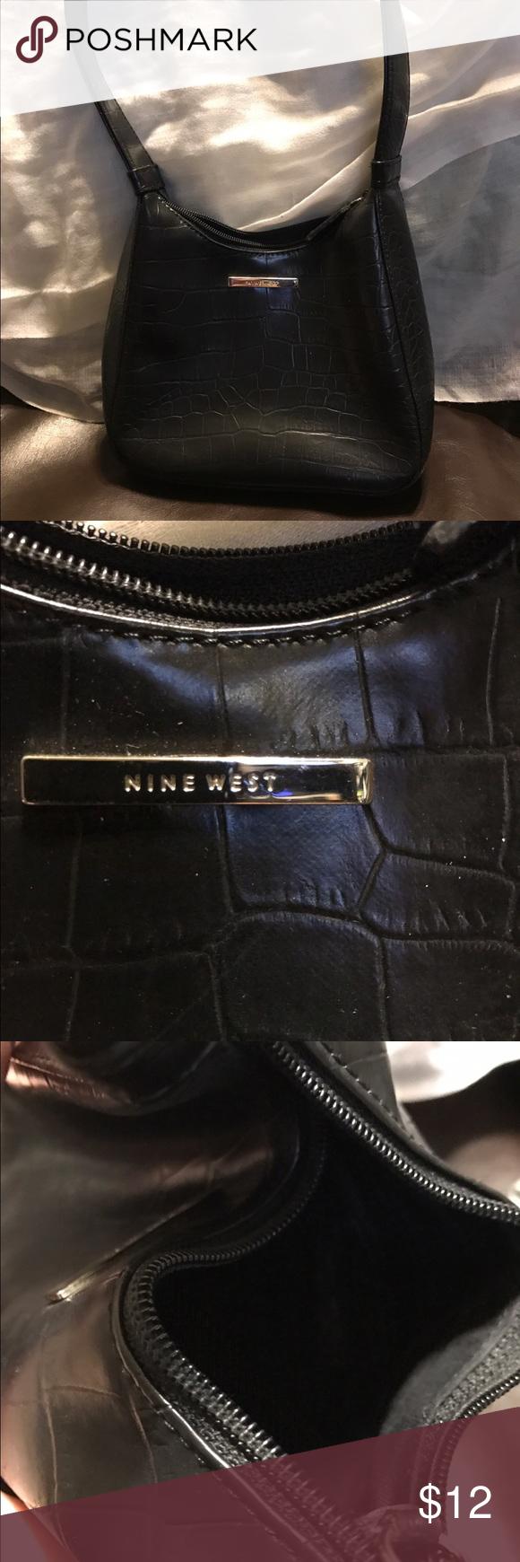 e9163deee44 Cute Nine West purse Cute small black purse Nine West Bags Mini Bags ...