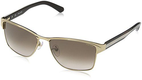 fcbc94e004b Police Men s S8851 Glider 2 rectangular Sunglasses