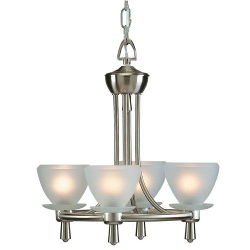 Frosted Four-light Contemporary Chandelier, Modern Lighting, Dining Room, Foyer Aztec by East coast Deals Unlimited http://www.amazon.com/dp/B00I2HDU3C/ref=cm_sw_r_pi_dp_9r05tb1B50FQK