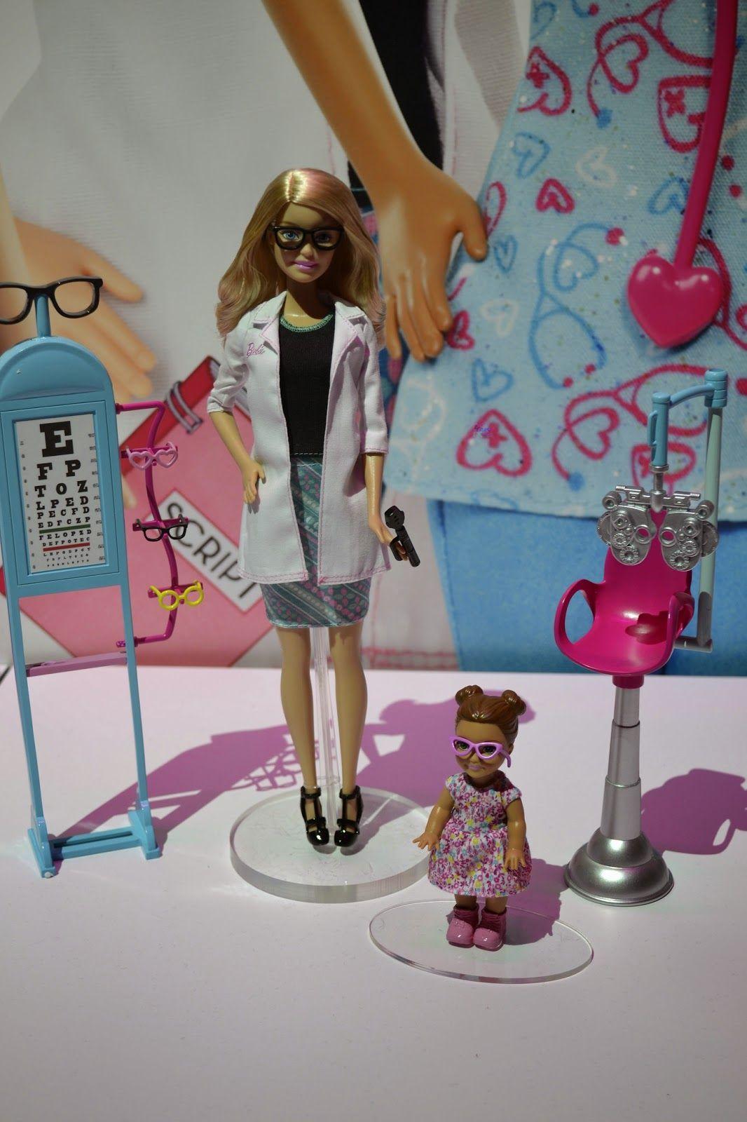 Barbie Eye Doctor | Barbie | Pinterest | Optometría
