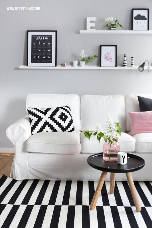 Fruhlingsdeko Ideen In Rosa Fur S Wohnzimmer Ikea Design Wohnen