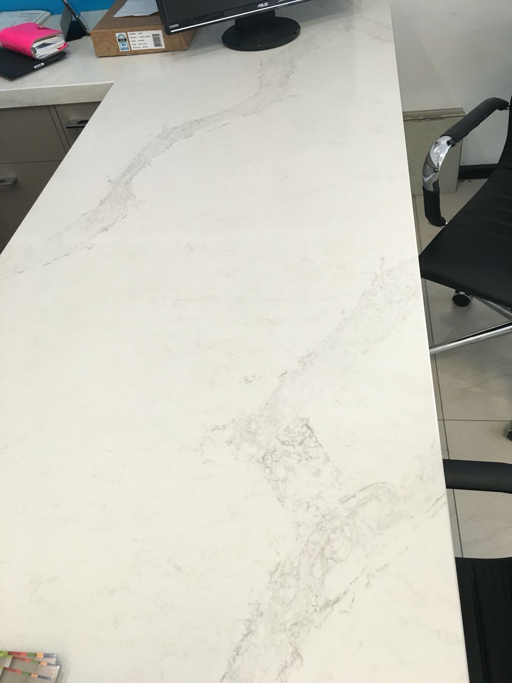 Bench Tops Sorted 40mm Caesarstone Calacatta Nuvo Calacatta Nuvo Caesarstone Calacatta Nuvo Lake House Kitchen