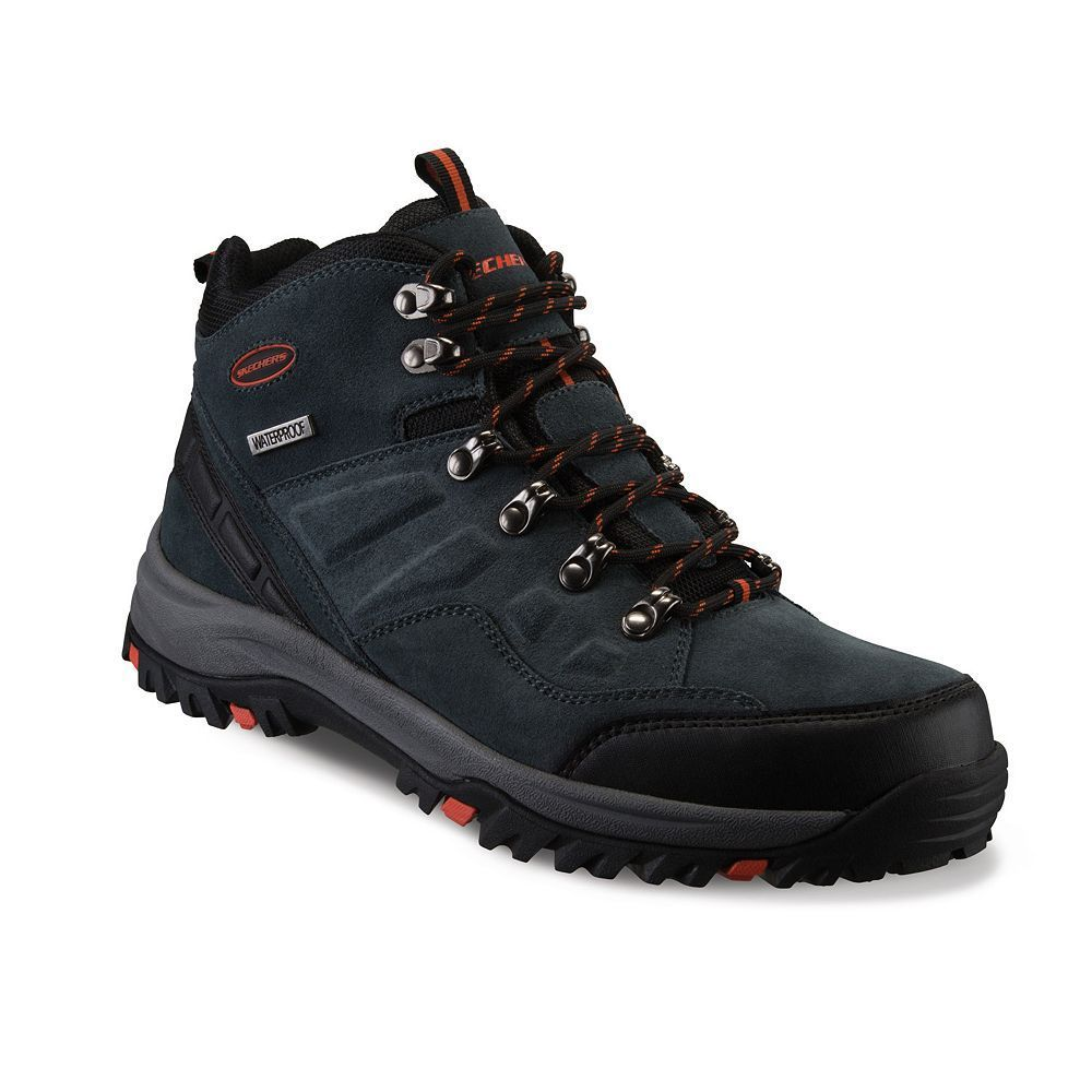 fa32cff86ac Skechers Relaxed Fit Relment Pelmo Men's Waterproof Boots   Products ...