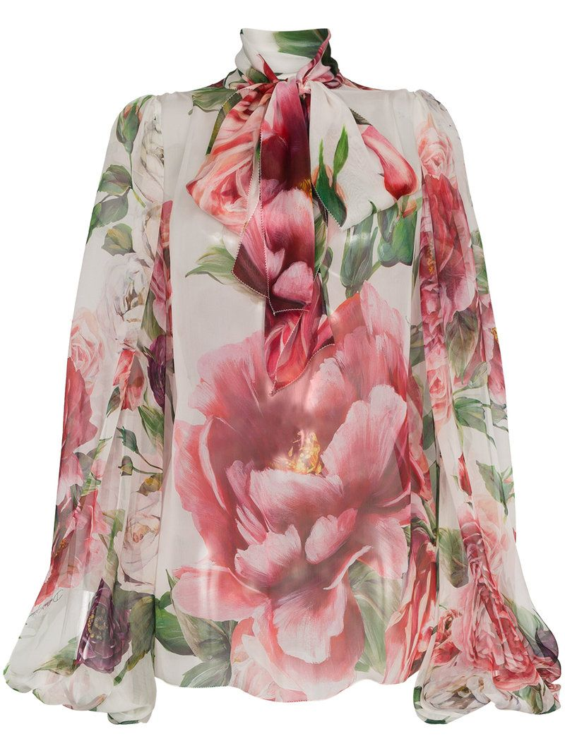 3d8ac08fc85cf1 Love this by DOLCE   GABBANA Flower Bow Blouse -  1485