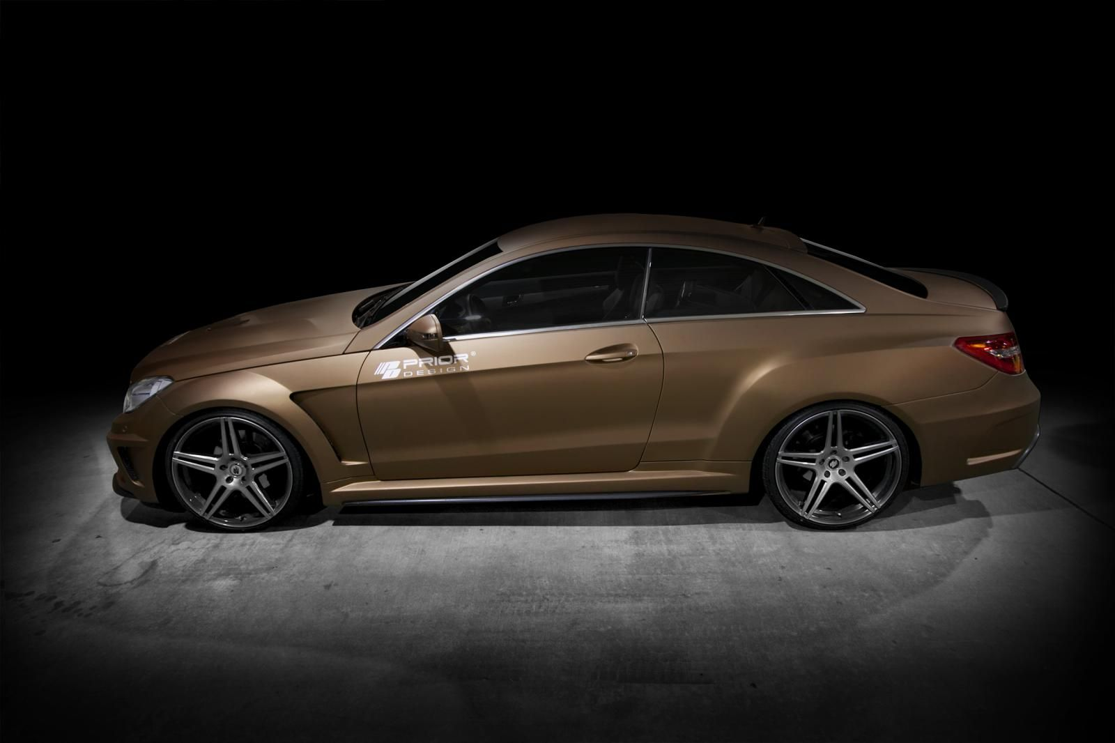 Mercedes benz e class coupe pd850 black edition widebody kit by prior design 06 05