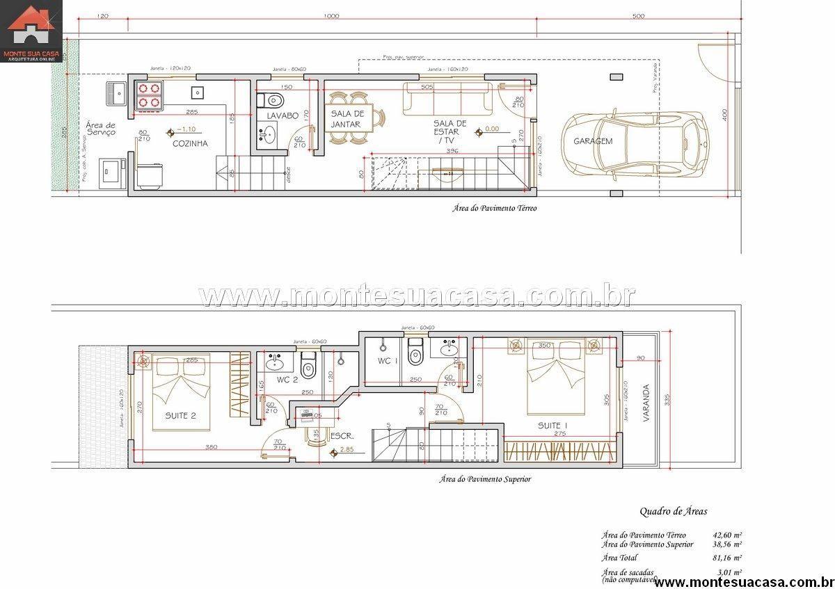 Great Como Decorar Apartamento Com Planta Estreita E Comprida   Pesquisa Google