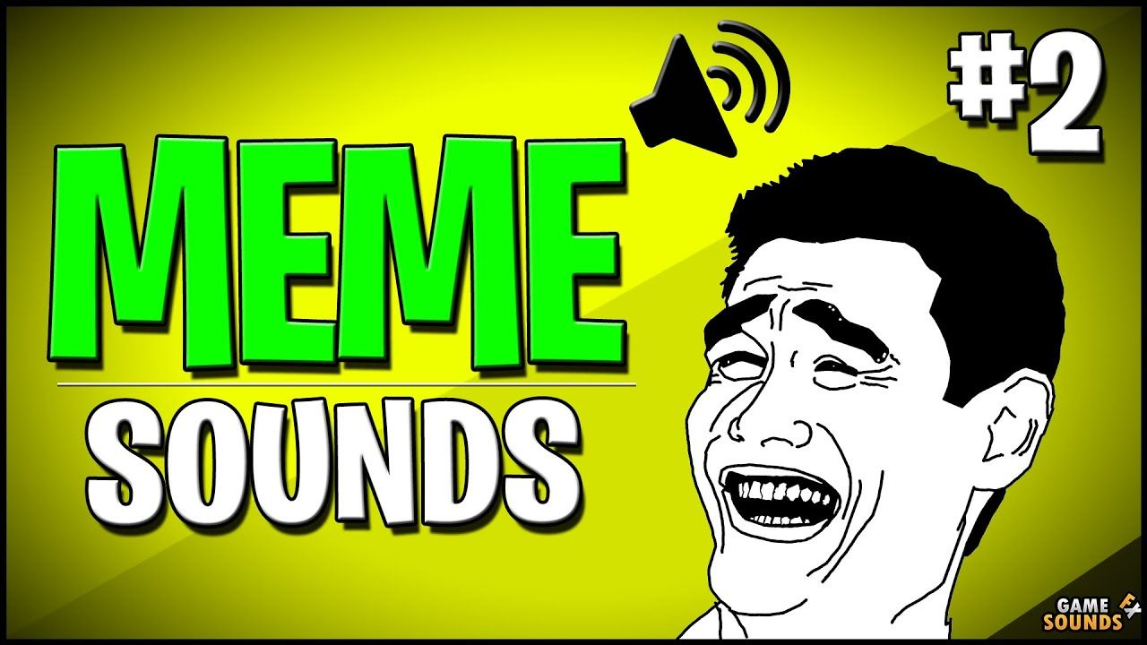 Meme Sound Effects For Editing Download