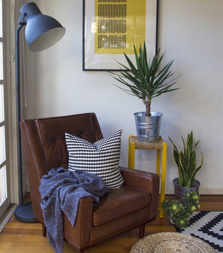 Reading Nook, Rose Gold Floor Lamp Ikea
