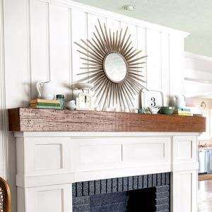 A Fireplace Face Lift for Just 87 Brick hearth Clever diy and