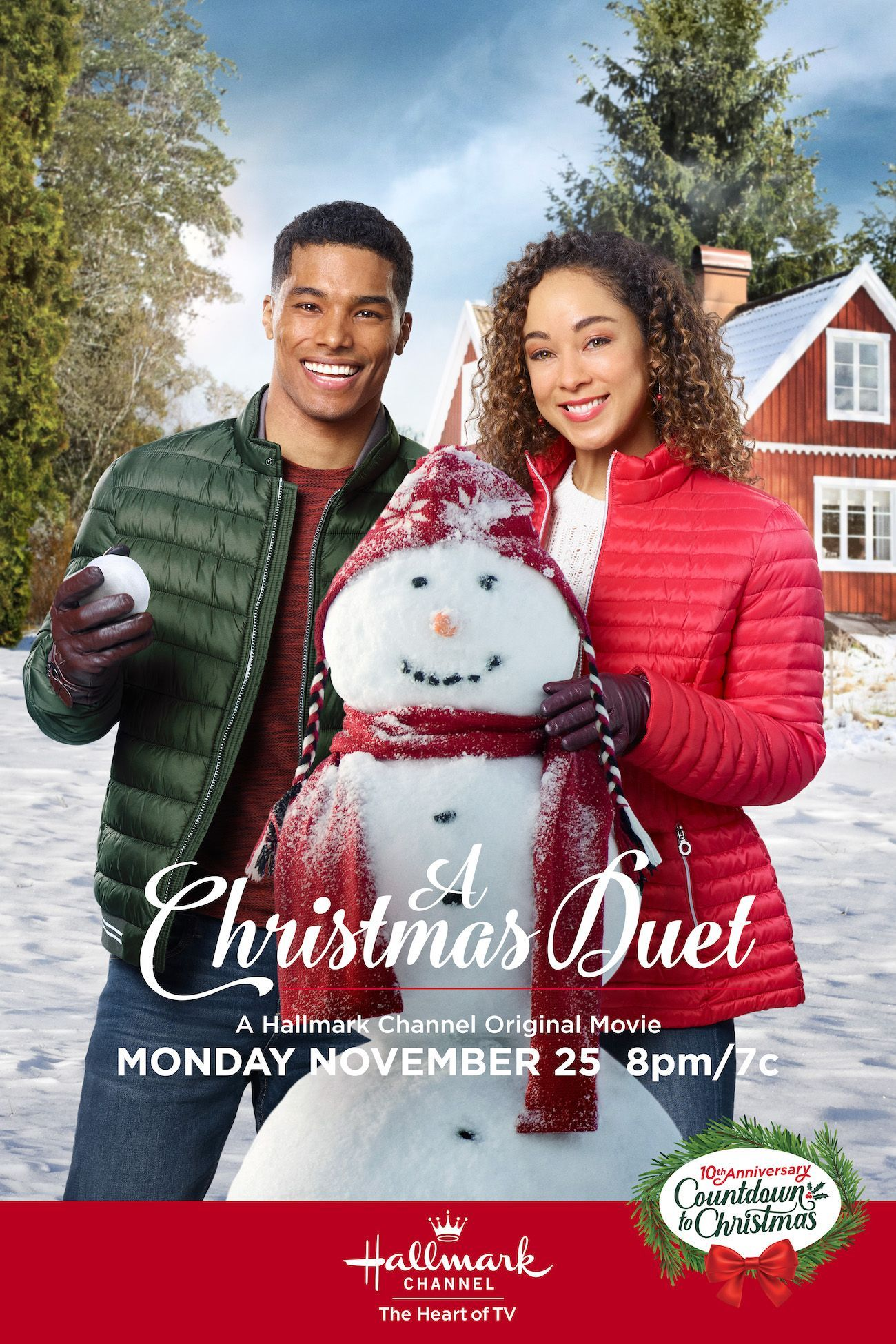 Chaley Rose And Rome Flynn Make Their Countdown To Christmas Debut With A Christma Hallmark Channel Christmas Movies Hallmark Christmas Movies Christmas Duets