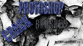 "Pincéis (Brushes) ""Crack"" para Photoshop 