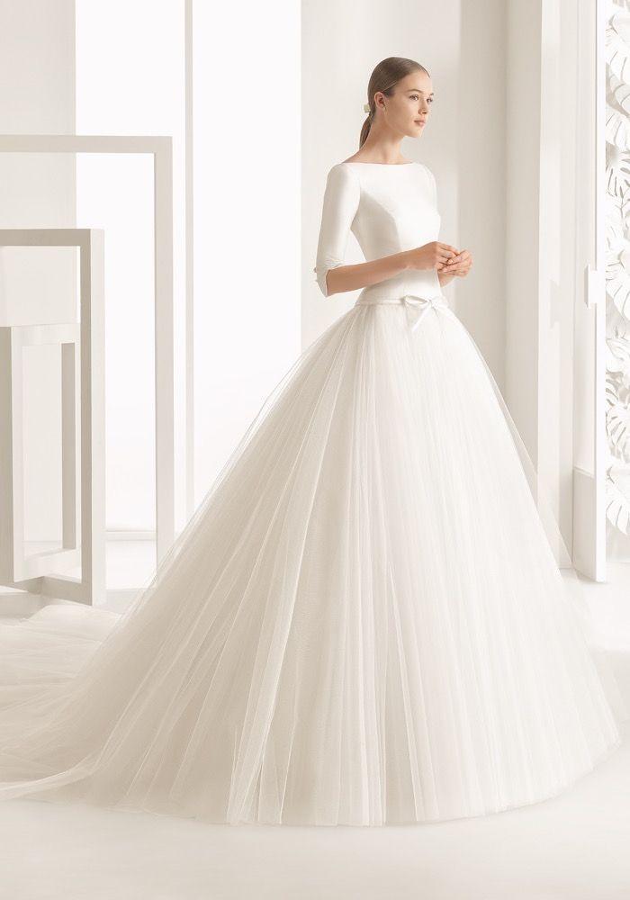 Rosa Clara 2017 Bridal Collection Designer Wedding Dresses Hong Kong Tailored Bodice In Cotton Ball Gowns Wedding Wedding Dresses Ball Gown Wedding Dress