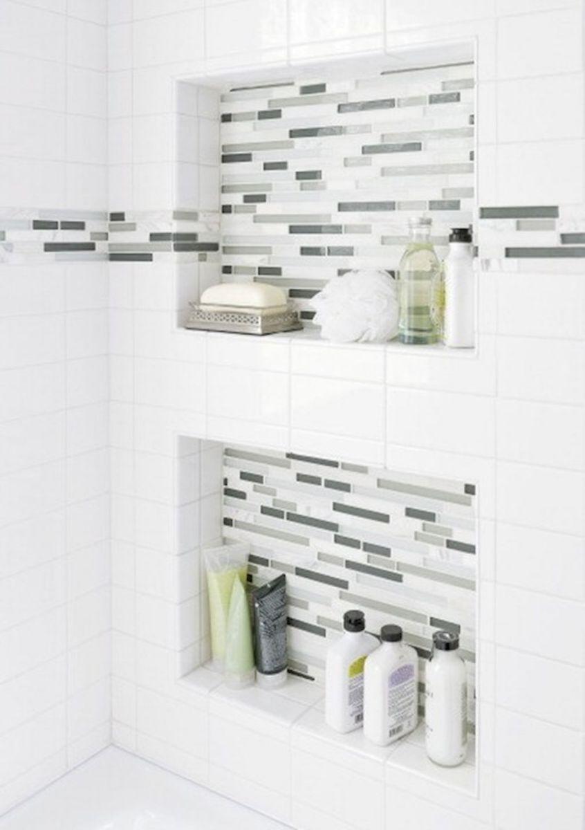 80 stunning tile shower designs ideas for bathroom remodel (20 ...