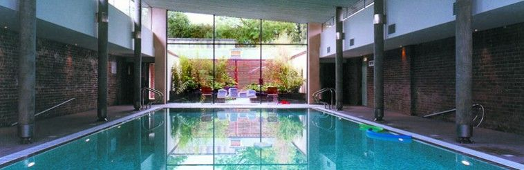 Child friendly pool house at the ickworth hotel in suffolk - Suffolk hotels with swimming pool ...