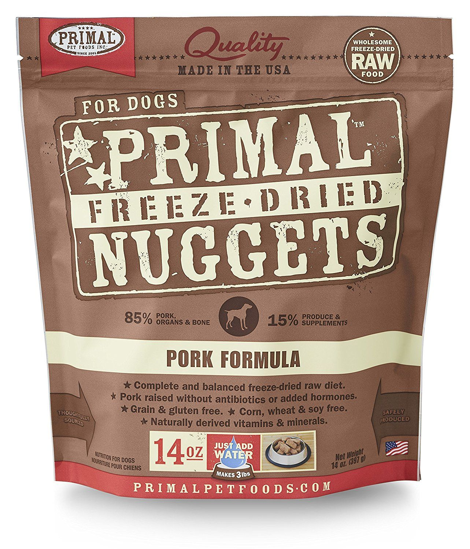 Primal Pet Foods FreezeDried Canine Pork Formula, 14 oz