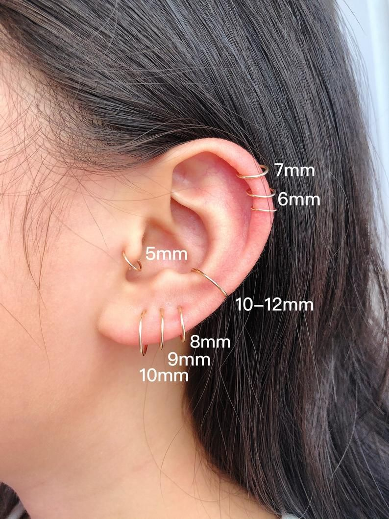 Cartilage Hoop Nose Hoop Tragus Hoop Helix Hoop Conch Hoop Piercing Hoop Ring Tiny Huggie Hoop Earrings 5mm 6mm 7mm 8mm 10mm 12mm In 2020 Nose Hoop Tragus Hoop Cartilage Hoop