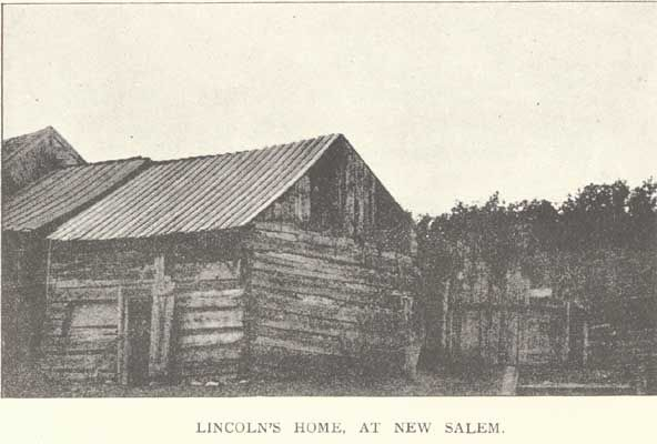 Lincoln's home at New Salem.