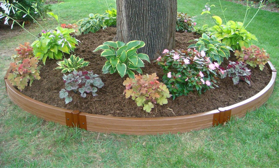 Curved Edging Garden Edging Landscaping With Rocks 400 x 300