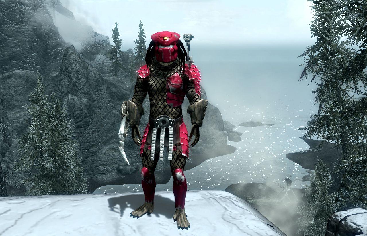 Big Red armor - Predators in Skyrim Mod | Alien & Predator in 2019