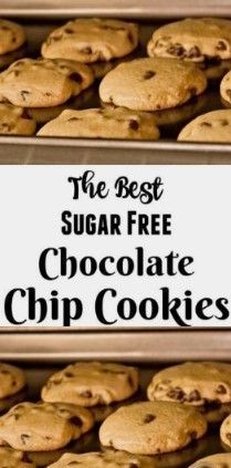 1 Reviews  The Formula For The Best SugarFree Chocolate Chip Treats