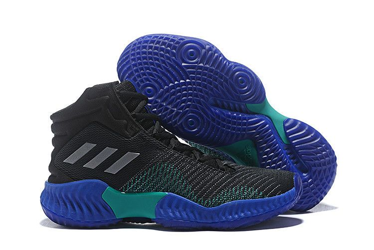 official photos 246fc c935e adidas Pro Bounce 2018 Black University Red-White For Men-4  adidas Pro  Bounce in 2019  Pinterest  Things that bounce, Black and Red and white