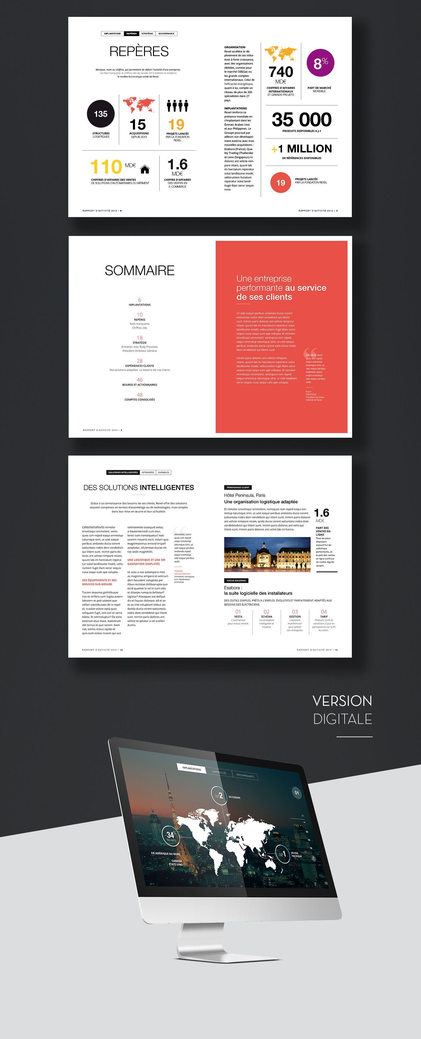 Rapport D Activité Et De Développement Durable Design
