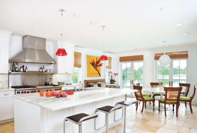 Miami Beach Kitchen By Marcelo Fernandez Of Haus Design Luxe Access Beach House Kitchens