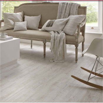 Karndean Knight Tile White Painted Oak Vinyl Flooring