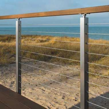 Cable/Rod Railing Design Help   Floating stairs, Railing ...