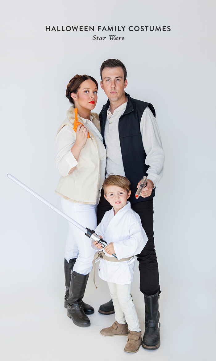 Halloween family costumes , Star Wars