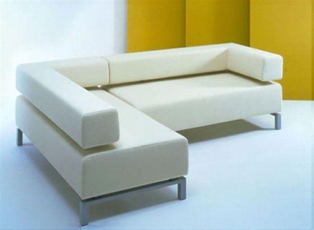 Elegant Minimalist Sofa Trend Ideas White Sectional Sofa Minimalist Sofa Types Of Sofas