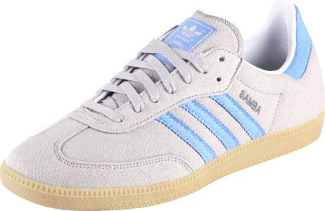 lechuga Valiente Al frente  Adidas Samba Vegan shoes grey blue | Adidas samba, Vegan shoes, Adidas