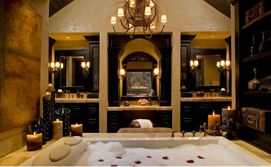 luxurius bathroom