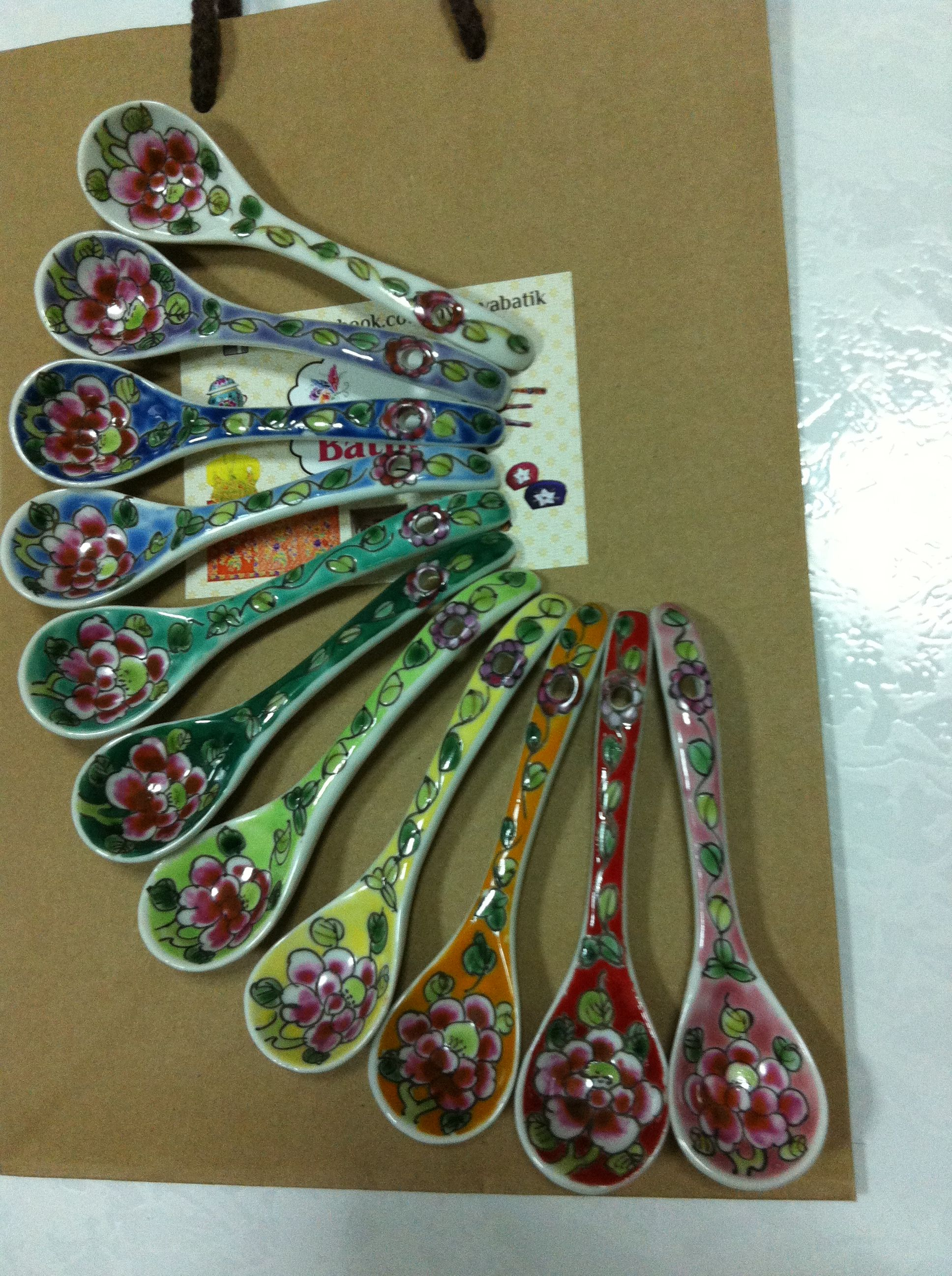 Peranakan Spoon Complete Colour Peranakan Pinterest 中 And 素材