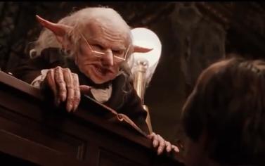 Harry Potter And The Philosophers Stone Goblin Bank Teller Bald Cap Fantasy Films Bald Cap Harry Potter