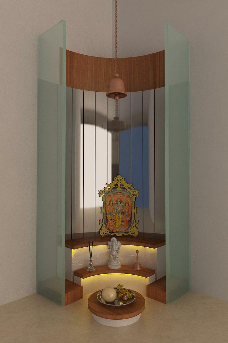 another mandir design idea Overall Home ideas Pinterest Room