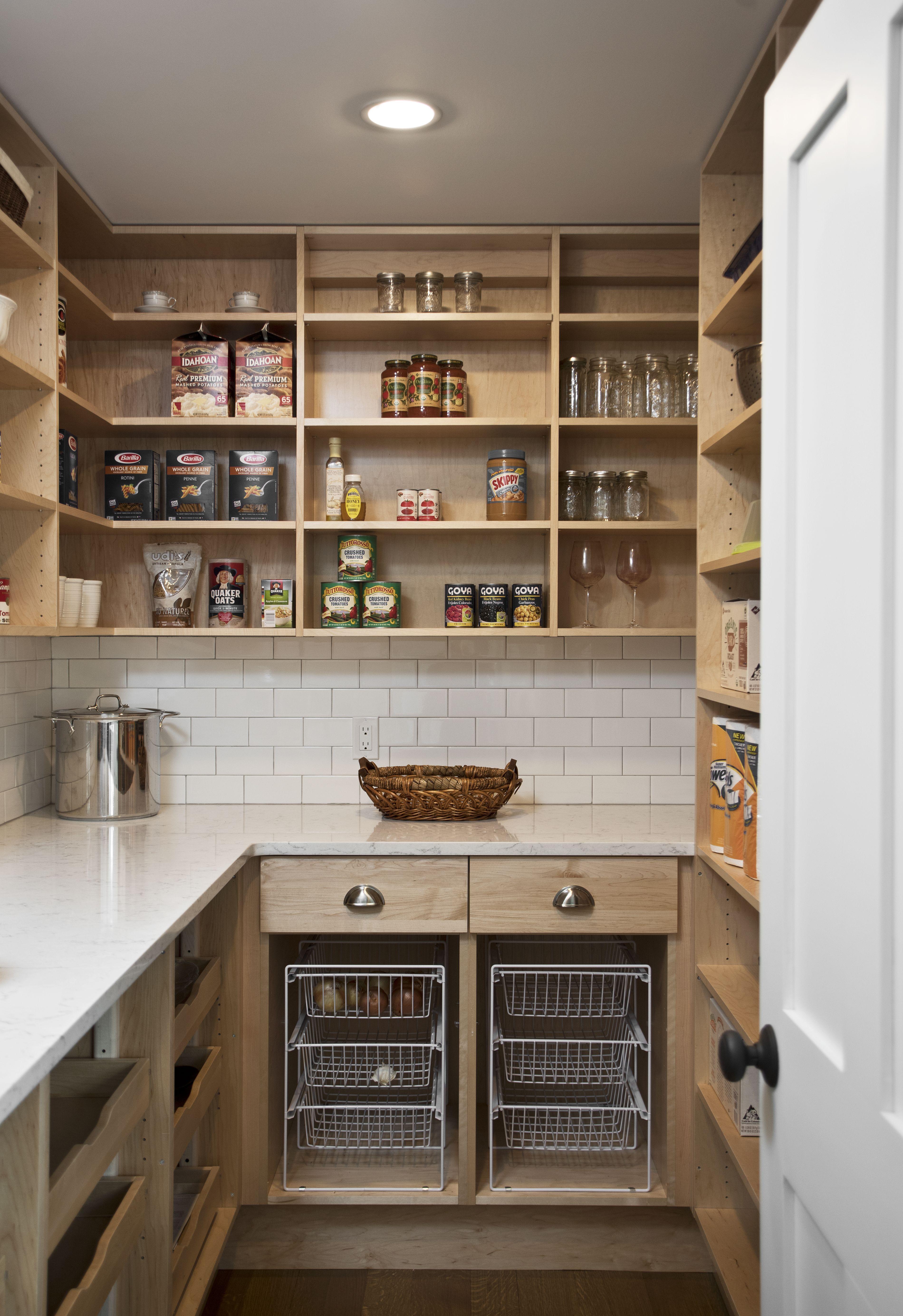 pantrydesign organizedpantry pantrystorage Kitchen