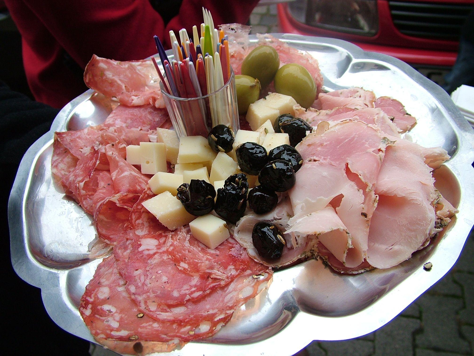 Antipasti Platter On An Eattheworld Foodtour Through Frankfurt