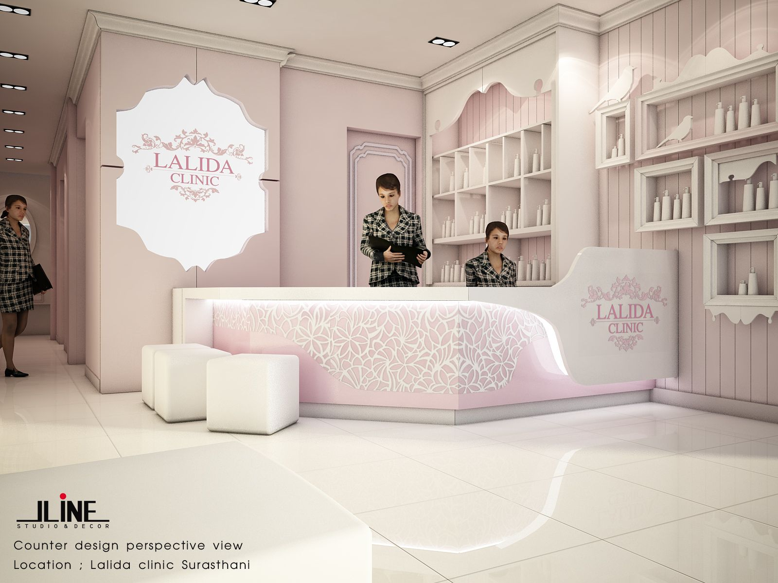 My Design Lalida Facial And Skin Clinic Interior Design Skin Clinic