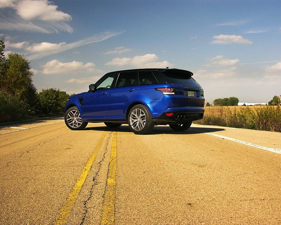 The Range Rover Sport SVR It May Just Be the Best SUV