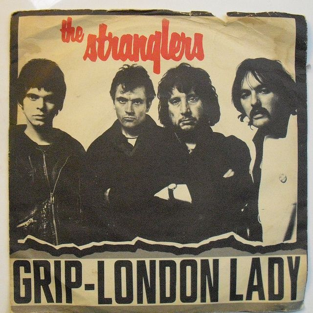 The Stranglers Grip /London Lady, UA 1977 in 2019 Post