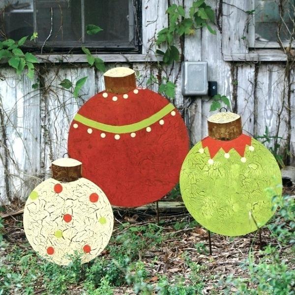 Diy outdoor christmas ornaments outdoor . - Diy Outdoor Christmas Ornaments Outdoor Christmas Pinterest