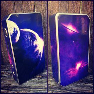 New design SPACE! Only at VaporSkinz.com and don't forget to use -----------------------------------------COUPON CODE 15OFFNOW FOR 15% OFF YOUR ENTIRE PURCHASE!!! #vaporskinz #vape #vapelyfe #vapelife #gotsmok #vapesirens #chickswithwicks #vapechicks #girlswhovape #cloudchaser #boxmod #subohm #snowwolf #ipv3li #sigelei #tempcontrol