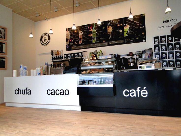 Barras para cafeteria barra para cafeteria wave mts linea for Cafeterias modernas